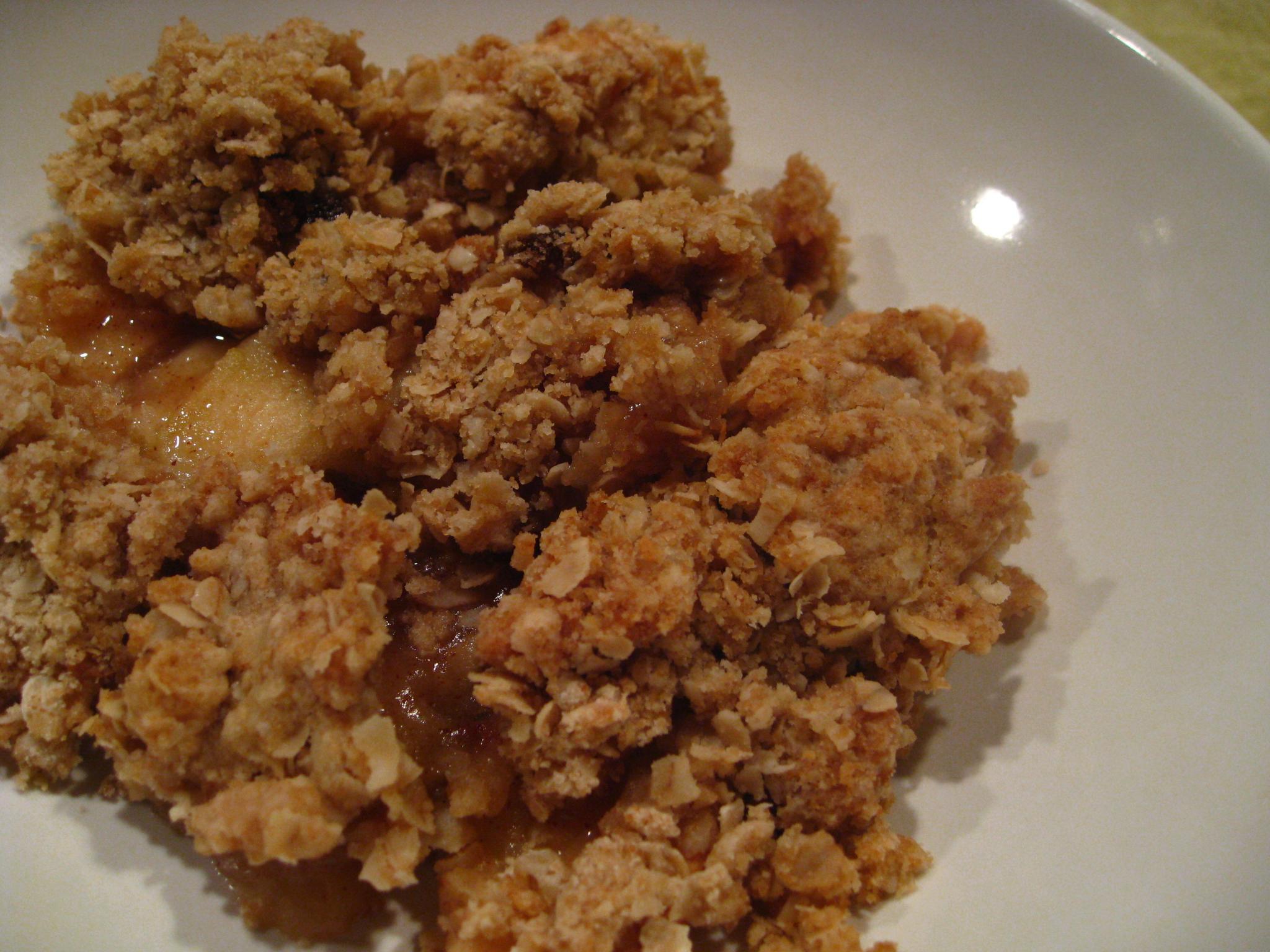 Apple Crisp | DoughSeeDough