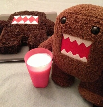 domo and domo cake