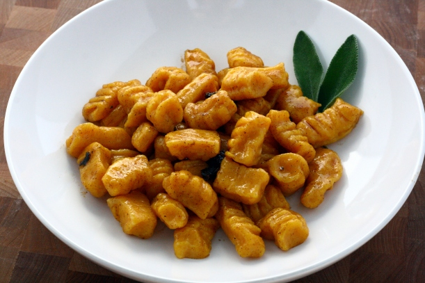 gnocchi with sage browned butter