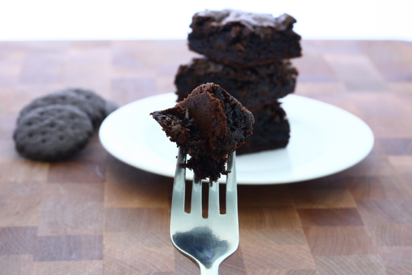 thin mint brownies | baked with love by doughseedough.net