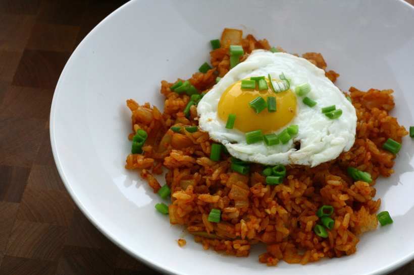 kimchi fried rice | doughseedough.net