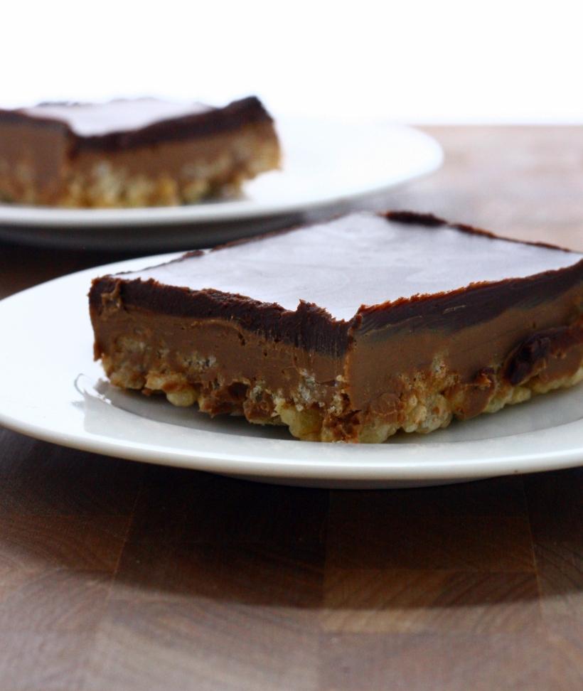 Peanut Butter Crispy Bars | doughseedough.net