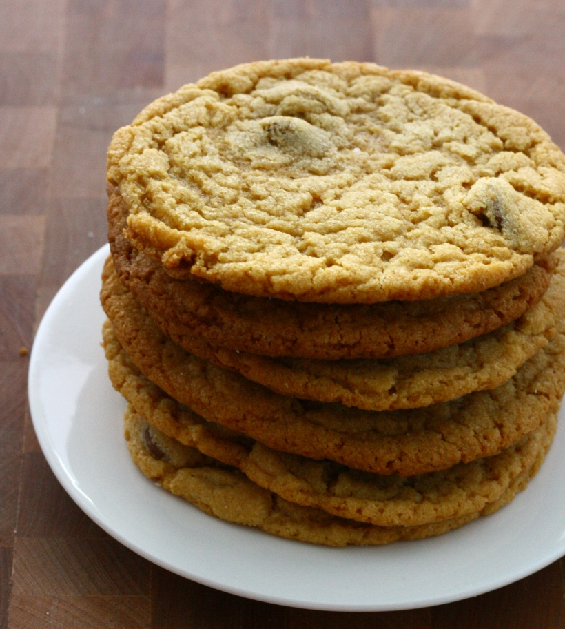 peanut butter chocolate chip cookies | baked with love by doughseedough.net