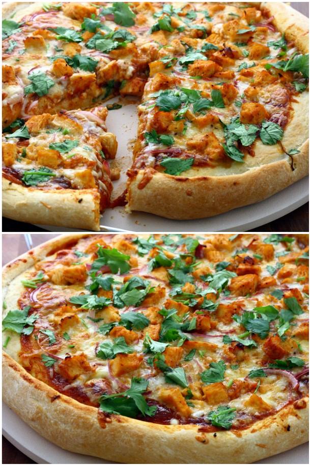 BBQ Chicken Pizza | DoughSeeDough.net