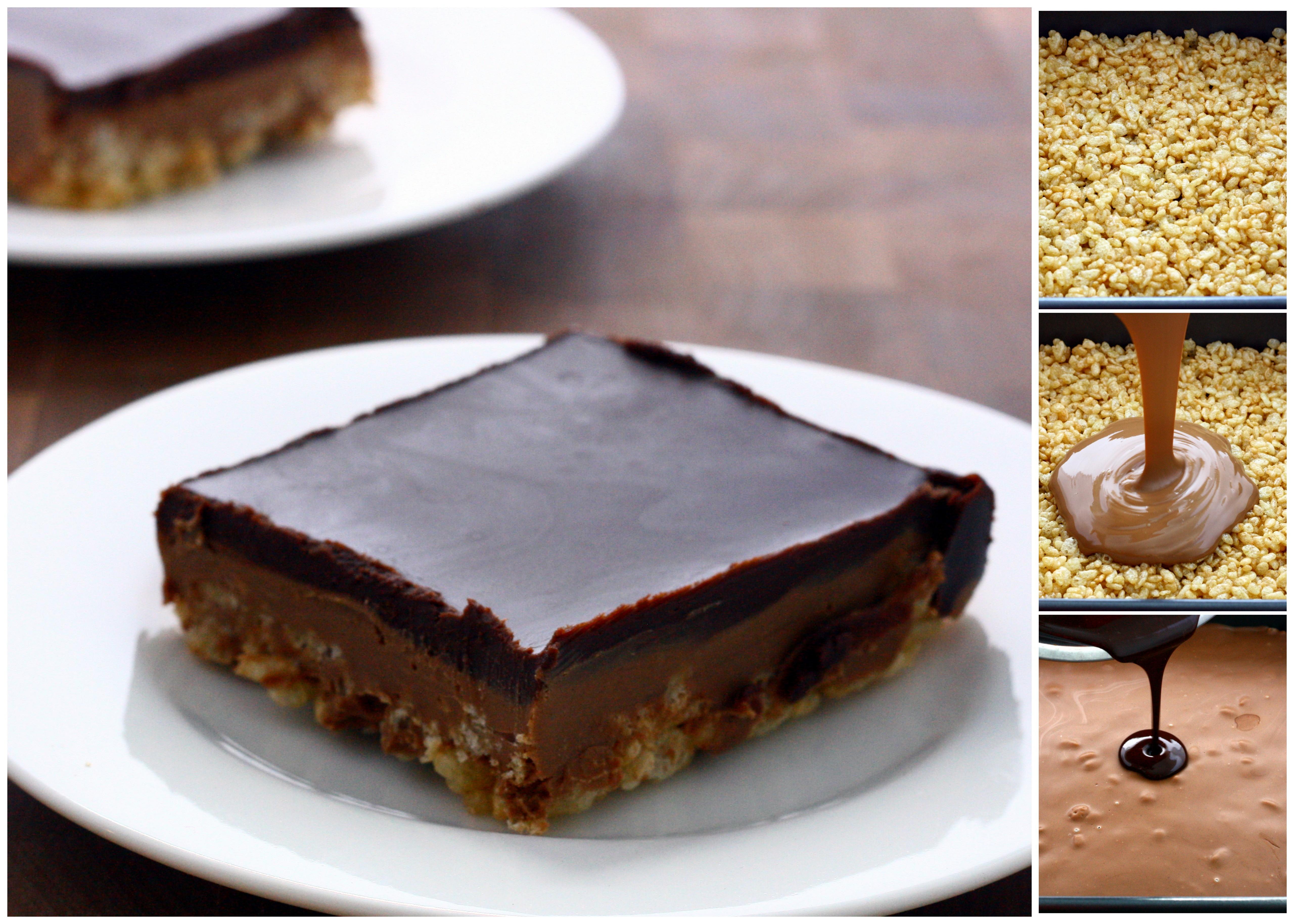 Peanut Butter Crispy Bars | DoughSeeDough