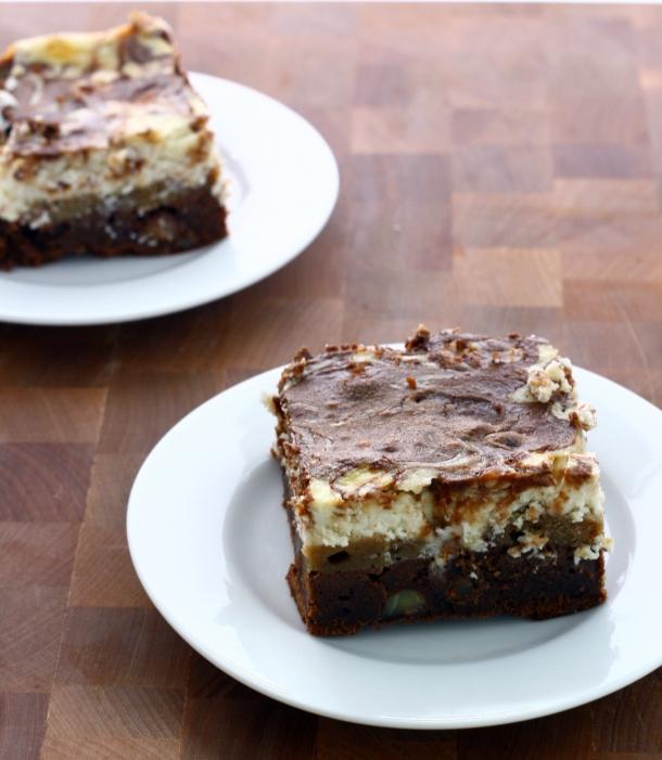 hazelnut tiramisu brownies | doughseedough.net