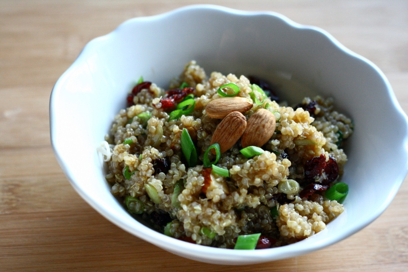 maple balsamic quinoa salad | doughseedough.net
