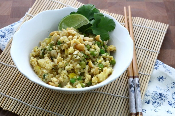 Thai Fried Quinoa | doughseedough.net