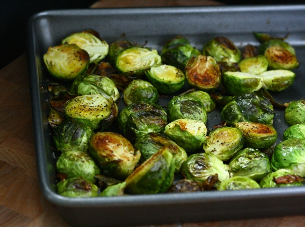 Easy Roasted Brussels Sprouts | doughseedough.net