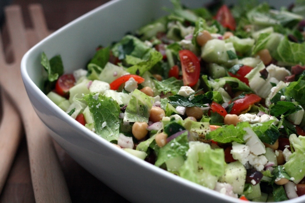 Mediterranean Chopped Salad | doughseedough.net