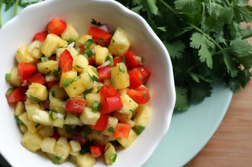 Fresh Pineapple Salsa | doughseedough.net