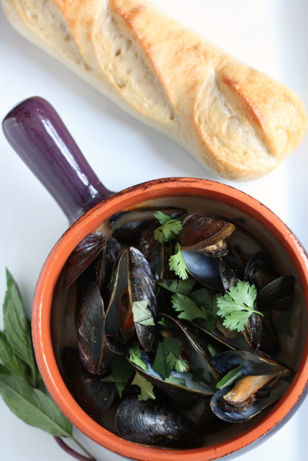 Curried Mussels in White Ale | doughseedough.net