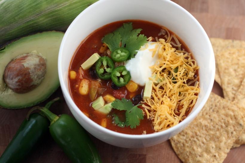 Chicken Taco Soup | doughseedough.net