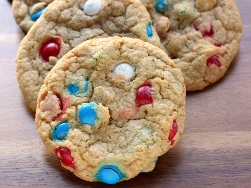 Thick & Chewy M&M Cookies   doughseedough.net